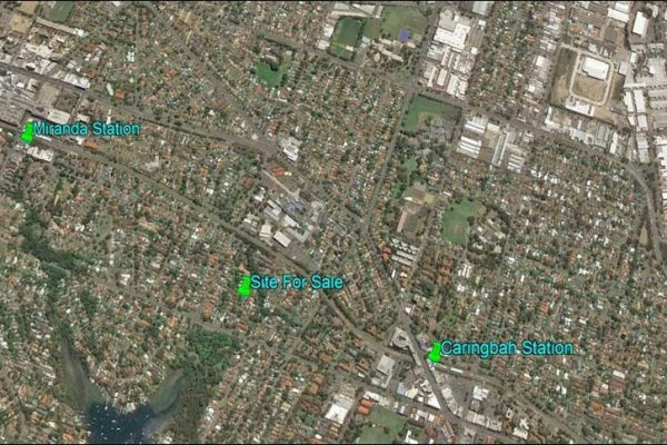 Caringbah      DA and CC Approved Townhouse site